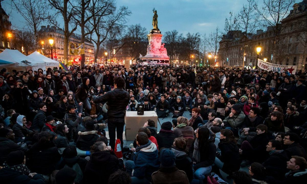 Nuit Debout photo
